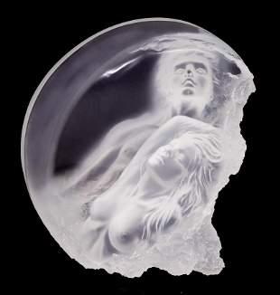Michael Wilkinson ''Moonrise'' 1990 Acrylic Sculpture