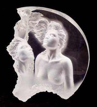 Michael Wilkinson ''Moonscape II - Aria'' 1999 Acrylic