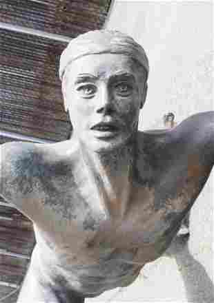 John Robinson ''Le Corsaire'' Massive Bronze Sculpture