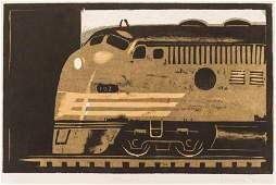 Lockwood Dennis ''Streamliner'' 1986 Woodcut