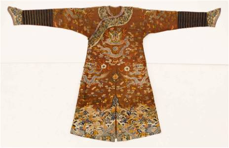 Chinese Qing Imperial Dragon Summer Robe