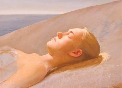 Bo Bartlett ''Awake'' 2002 Oil on Panel