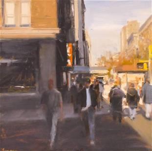 Ben Aronson ''Upper West Side, Afternoon'' 2002 Oil
