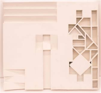 George Ortman ''Maquette for AKA Lobby Sculpture'' 1970