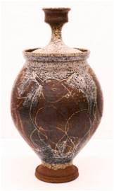 Peter Voulkos ''Bulls and Figures Jar'' 1953 Stoneware