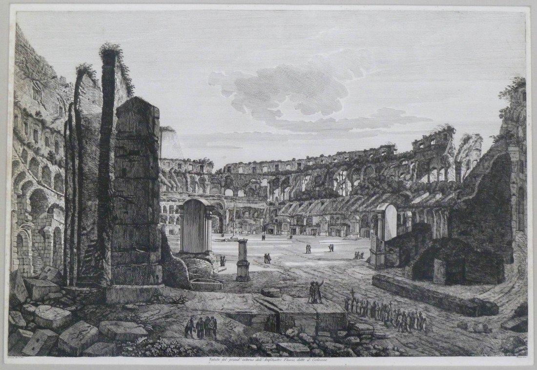 8: Piranesi (18th Cent. Italian) ''Veduta del Grand'' R
