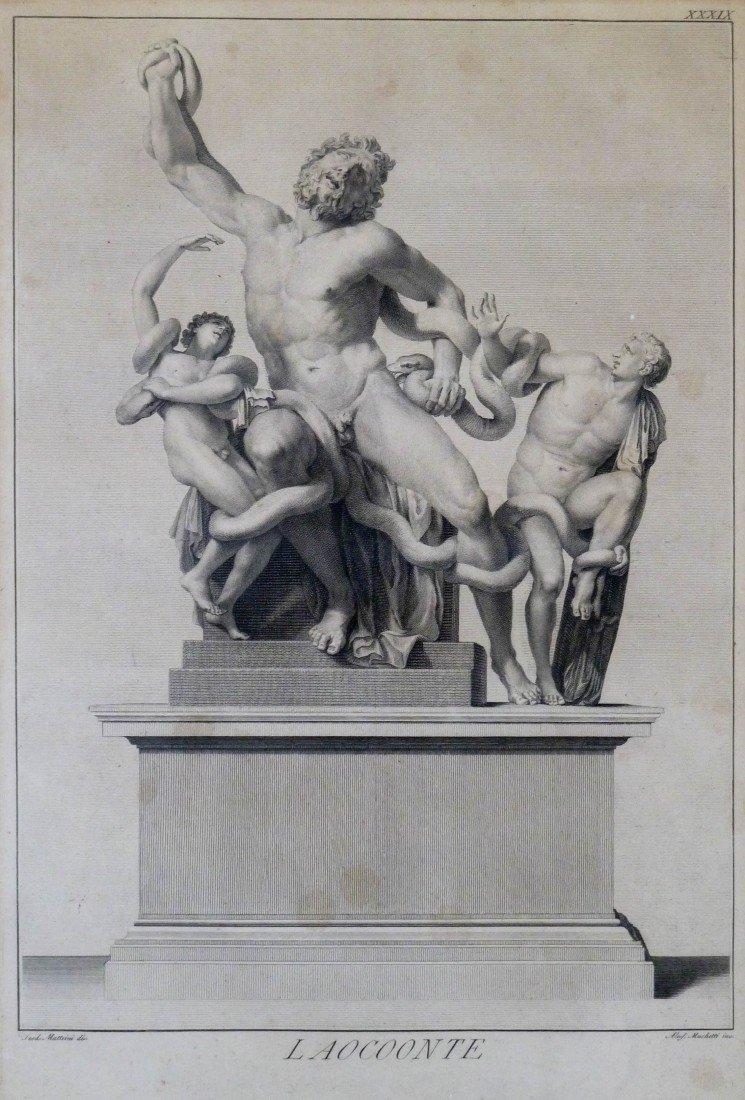 11: Matteini (18th Cent. Italian) ''Laocoonte'' Classic