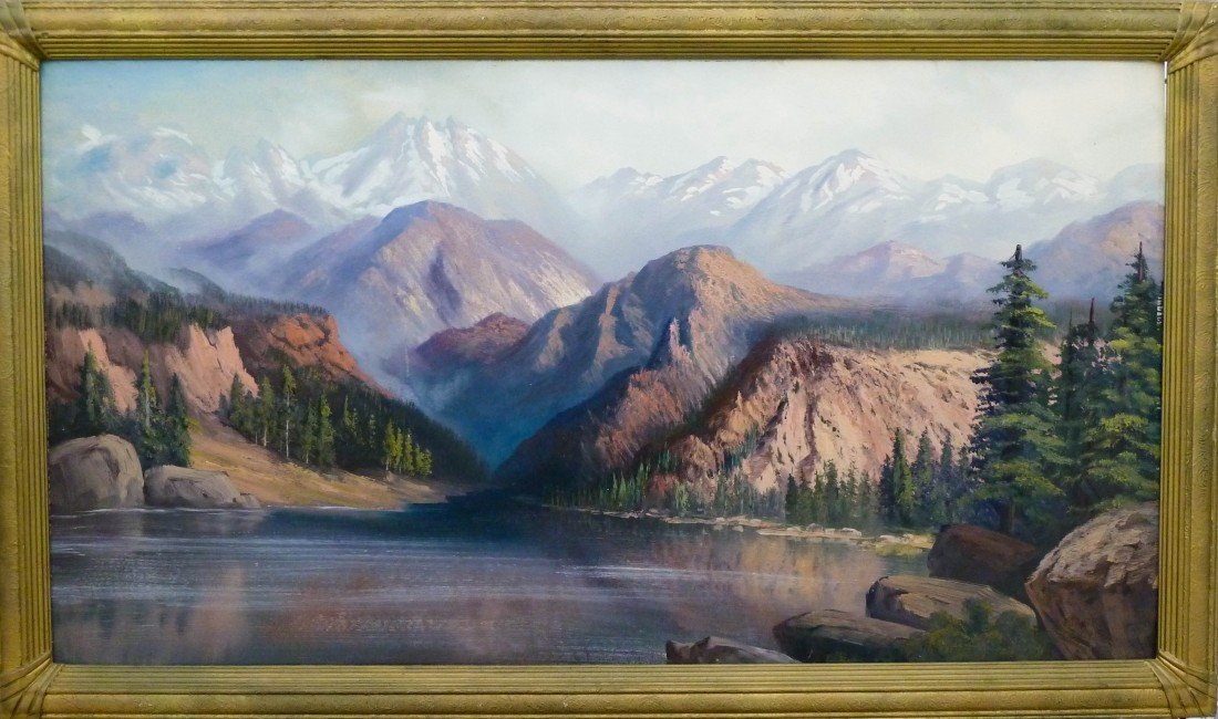 16: Mark Colvin (19th/20th Cent. WA) Untitled Panoramic