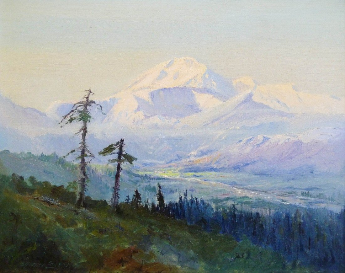 34: Sydney Mortimer Laurence (1865-1940 AK) Untitled Mt