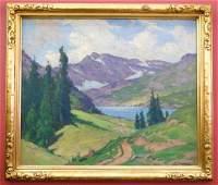 Frank Charles Peyraud (1858-1948 IL) Untitled Mount