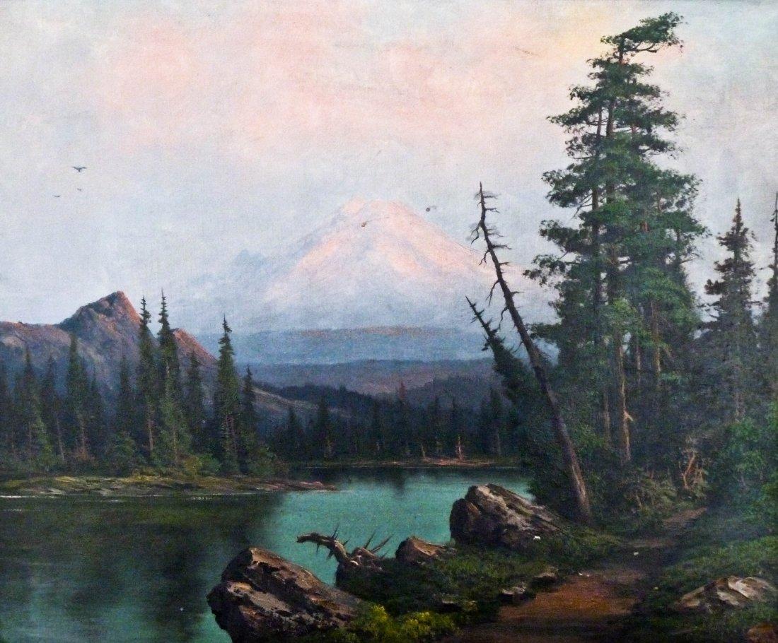 2: Leroy Dayton Updyke (1876-1959 WA) Untitled Mountain
