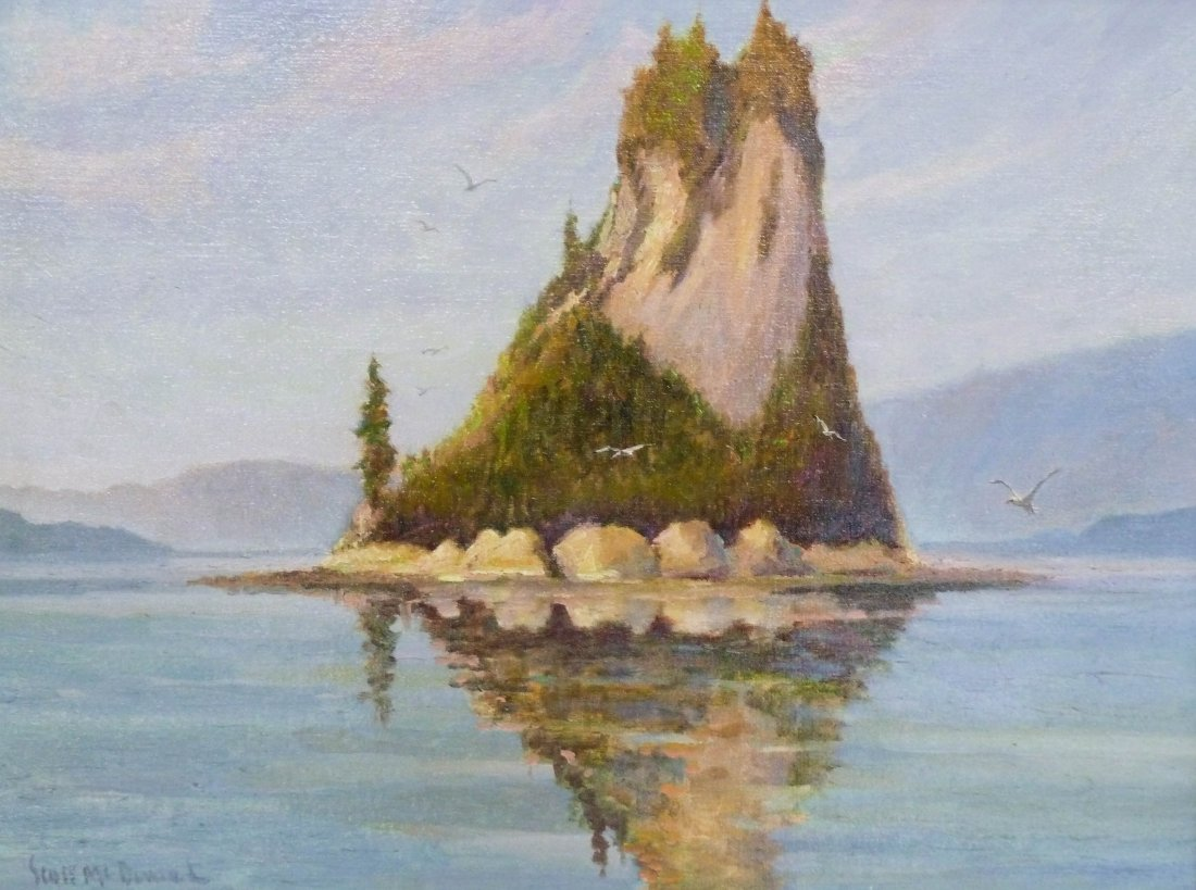 6: Scott McDaniel (b.1926 AK/CA) ''Eddystone Rock, Alas
