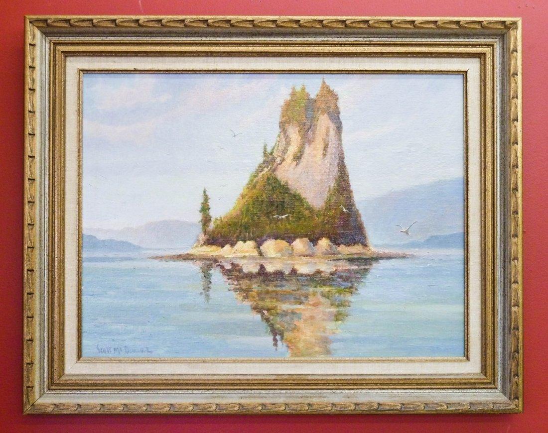 6: Scott McDaniel (b.1926 AK/CA) ''Eddystone Rock, Alas - 2
