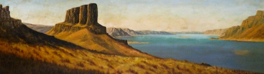 7: Leroy Dayton Updyke (1876-1959 WA) Untitled Columbia