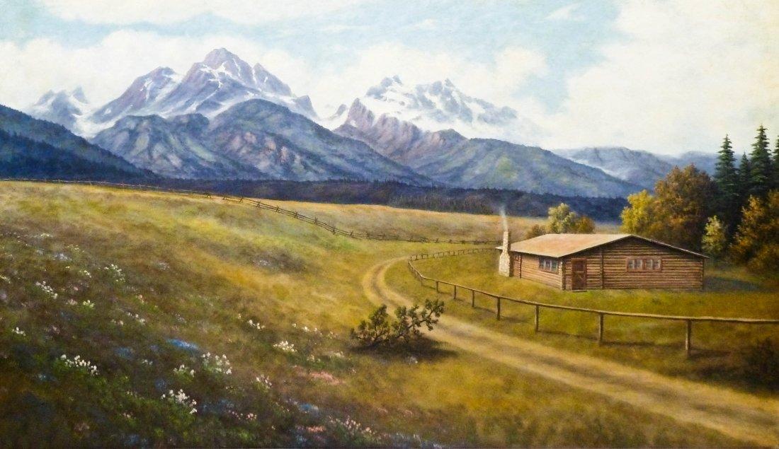8: Leroy Dayton Updyke (1876-1959 WA) Untitled Mountain