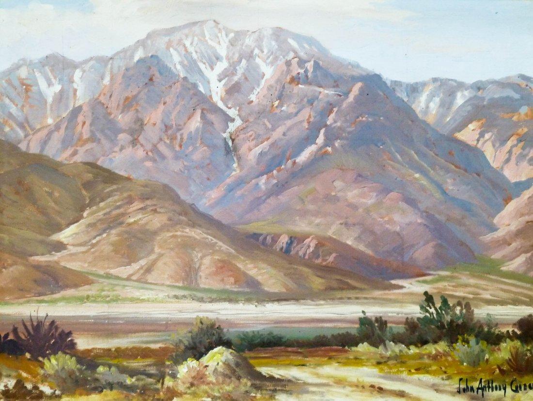 17: John Anthony Conner (1892-1971 CA) Untitled Desert