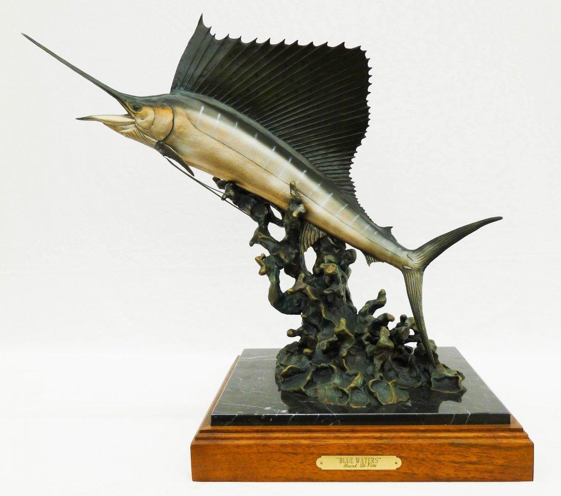 23: Frank DiVita (b.1949 MT) ''Blue Waters'' Sailfish S