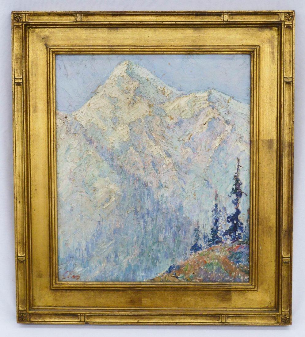 2: Marcel Olis (20th Cent. NY) Untitled Mountain Scene