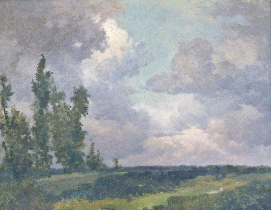 7: Bernhard Uhle (1847-1930 PA) ''Cloud Shadows'' Oil/C