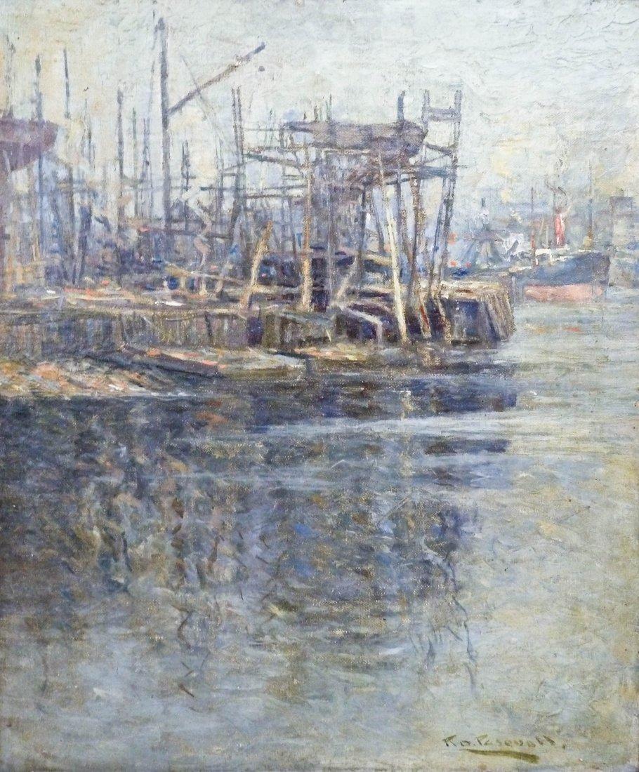 8: Robert D. Pasquoll (fl.1904-1926 UK) ''Henderson's Y