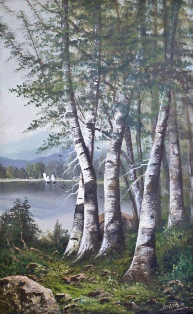 12: John Englehart (1867-1915 CA) Untitled Forest Scene