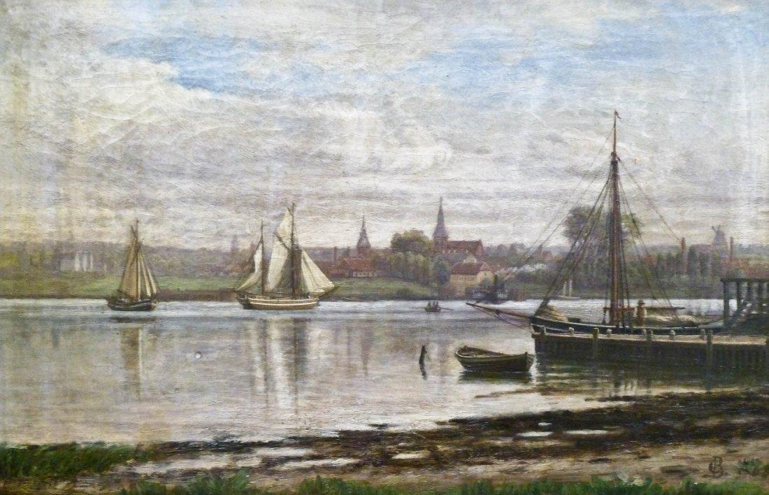 14: Christian Berthelsen (1839-1909 Danish) ''A Misty M