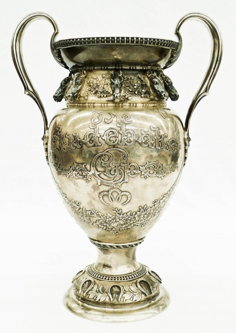 70: 1906 Tiffany & Co. ''The Studebaker Cup'' Figural S