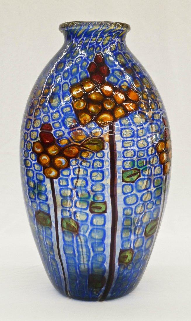 73: Ercole Barovier ''Mosaico'' Floral Murano Art Glass