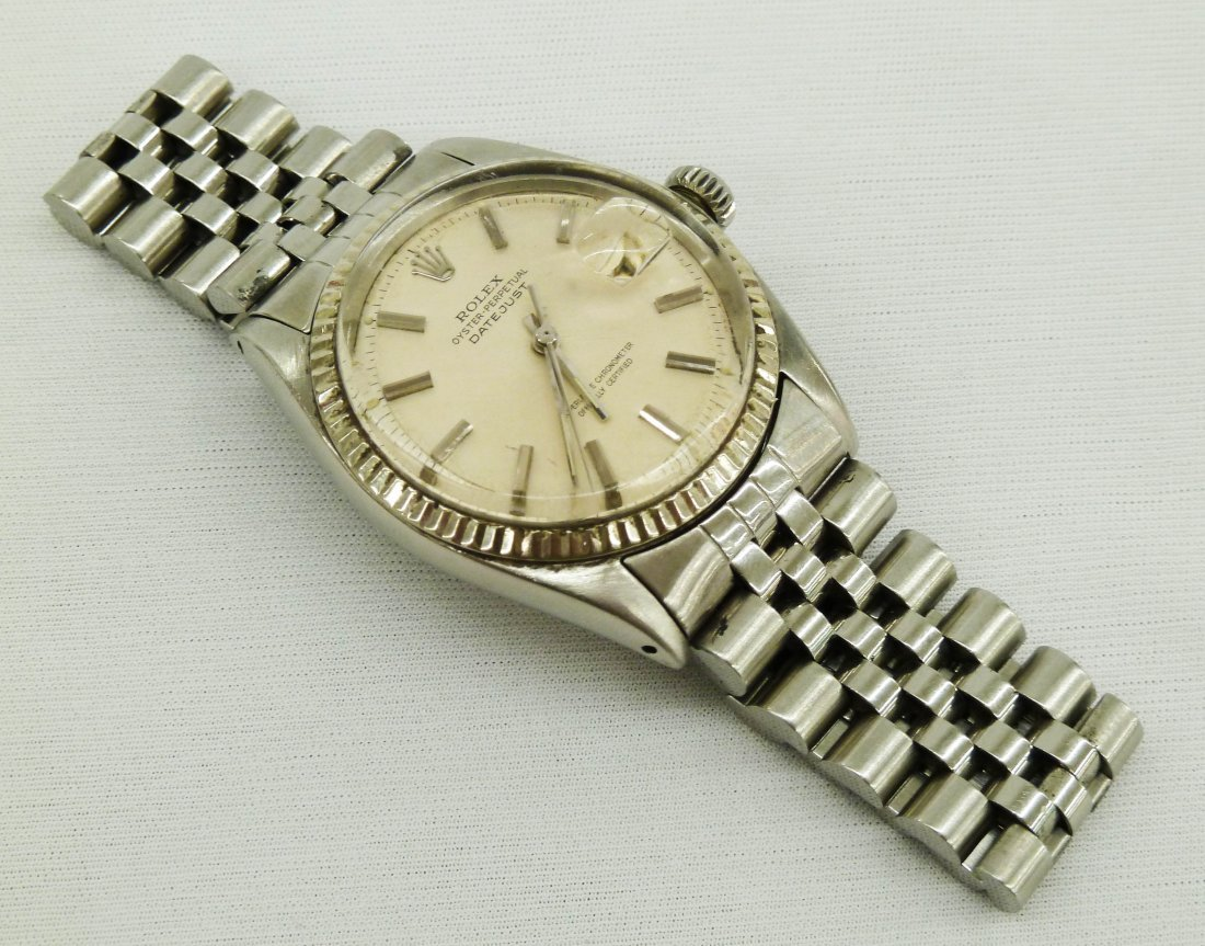 102: Vintage Rolex Men's Oyster Perpetual Date-Just Wri