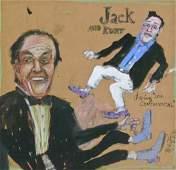 265: James Martin (b.1928 WA) ''Jack and Kurt Doing the