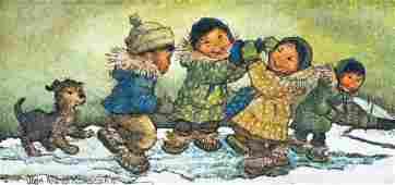 232: Joan Arend Kickbush (1926-2006 AK) Untitled Eskimo