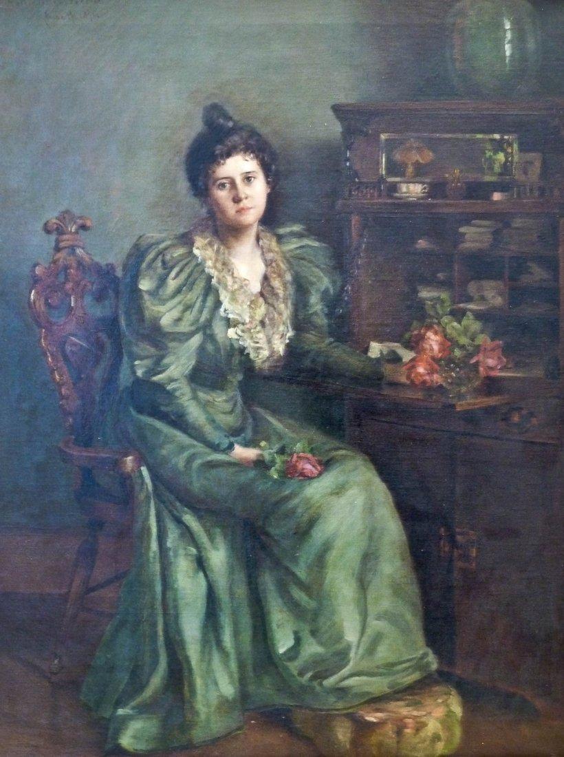 21: Harriet ''Hattie'' Foster Beecher (1854-1915 WA/CA)