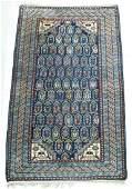 Antique Dagestan Caucasian Oriental Rug 35x58