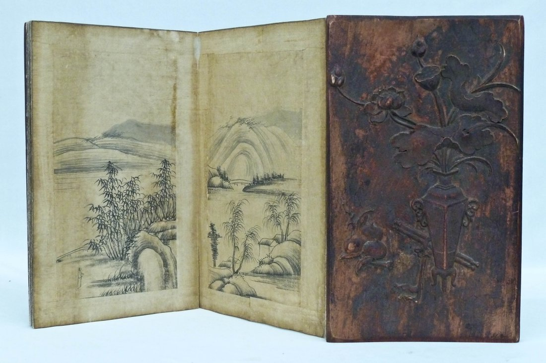 Dong Qi Chang Attributed Chinese Sumi Painting Book