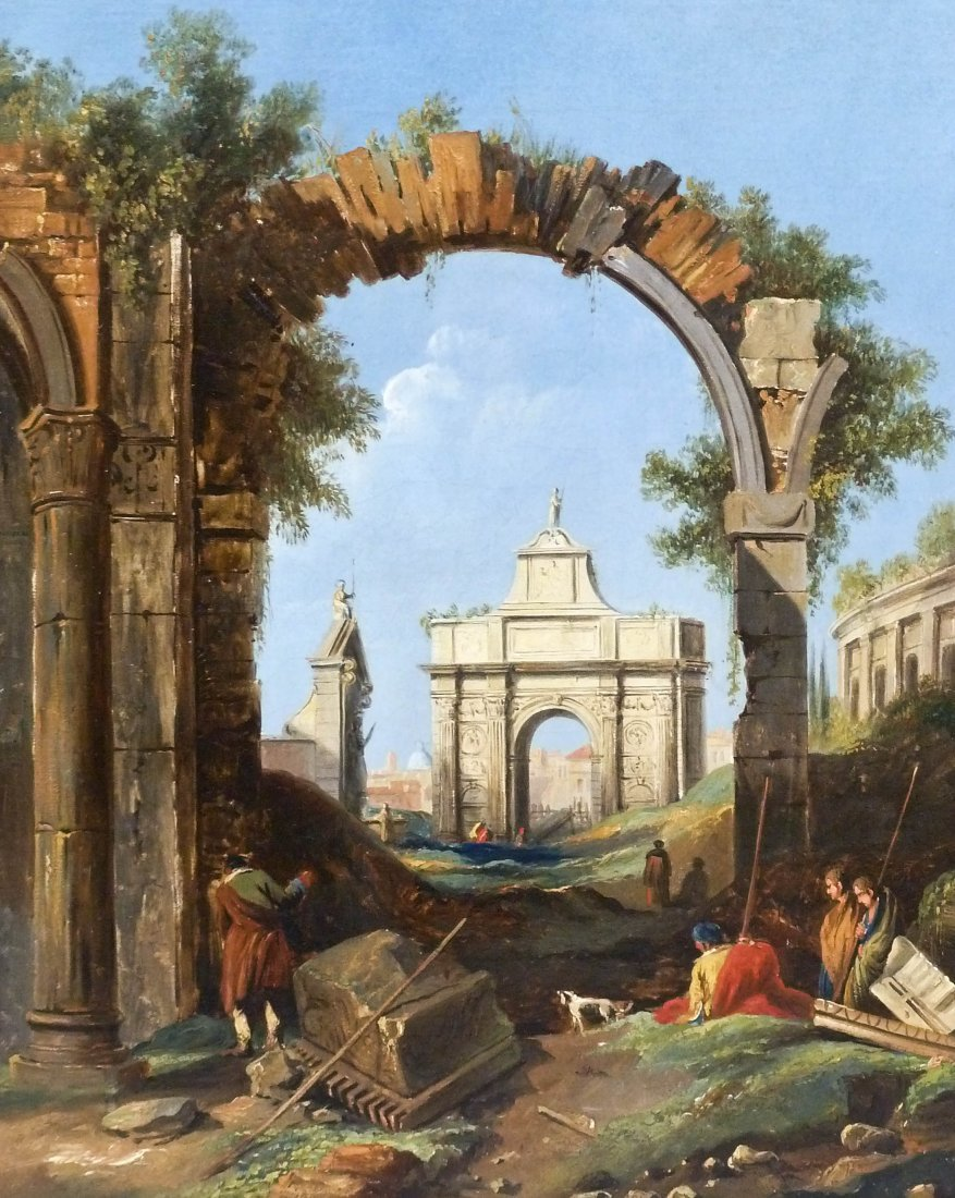 Giovanni Paolo Panini (1691-1765 Italy) Attributed