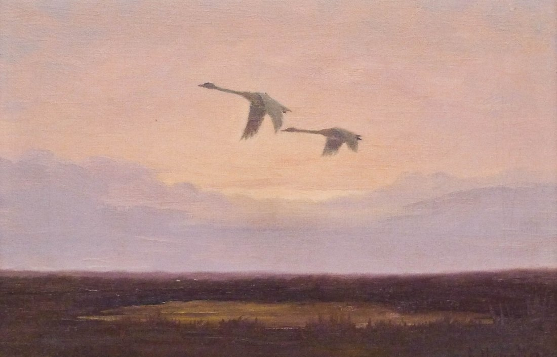 Magnus Colcord Heurlin (1895-1986 Alaska) ''Paradise''