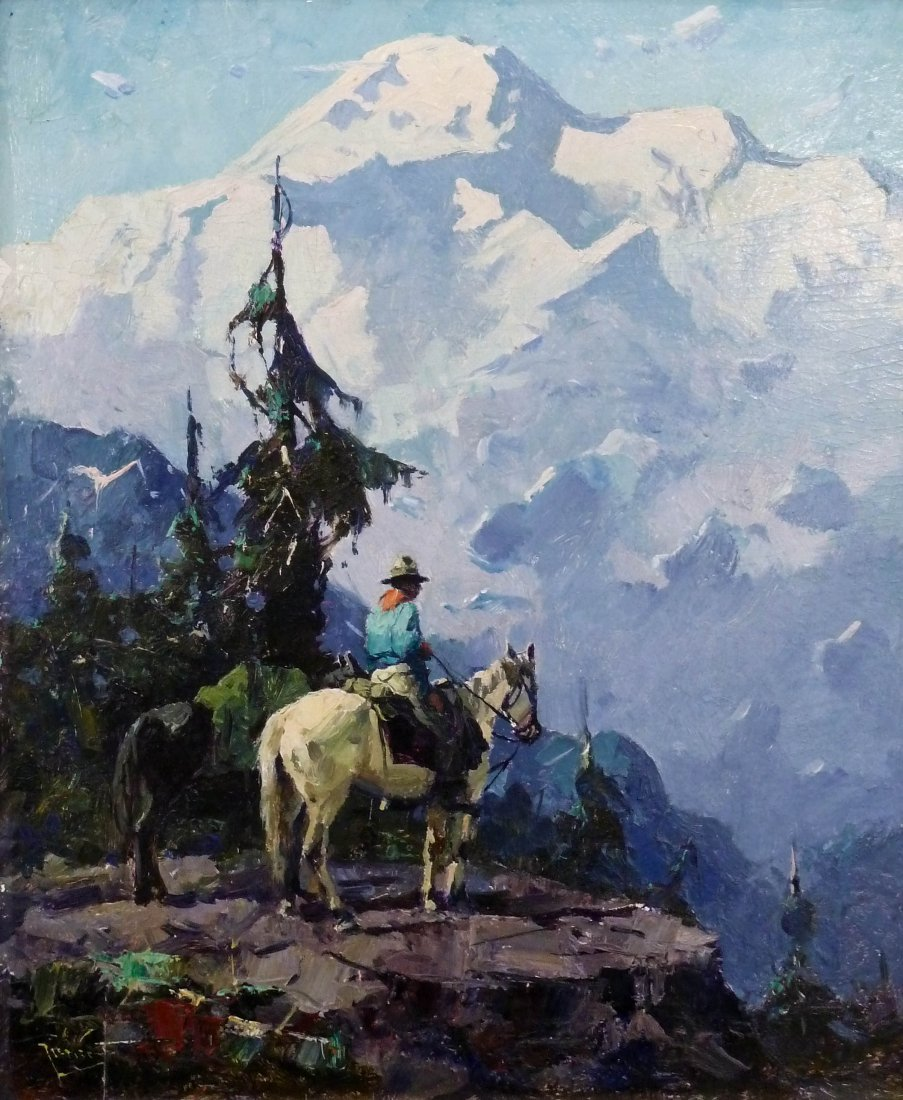 Eustace Ziegler (1881-1969 AK/WA) ''Mt. McKinley and