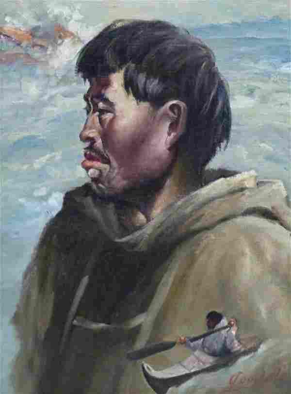 Harvey Goodale (1900-1980 Alaska) Untitled Eskimo