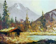 Ellen Henne Goodale (1915-1991 Alaska) Untitled Autumn