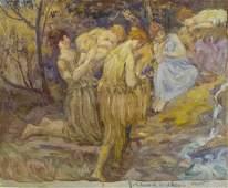 John Edward Walker (1880-1940 California) Untitled
