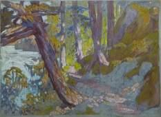 Otto Eugene Hake (b.1876 Illinois) Untitled Forest