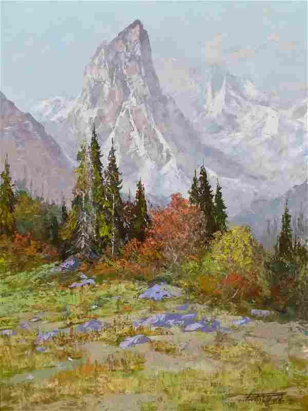 Fred Oldfield (b.1918 Washington) Untitled Mountain