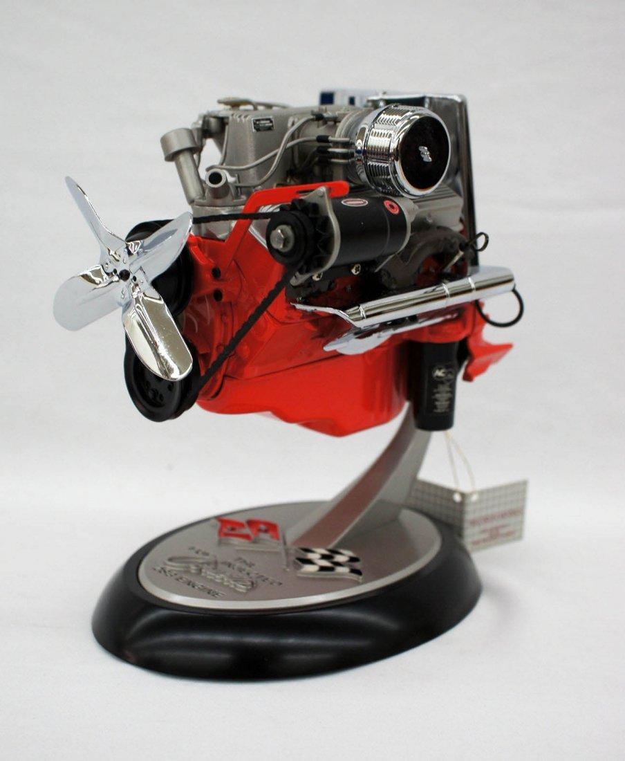 Franklin Mint 1957 Corvette Cutaway 283 Engine Model