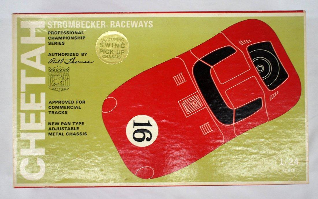 Strombecker Cheetah 1960's Slot Car Model Kit MIB 1/24