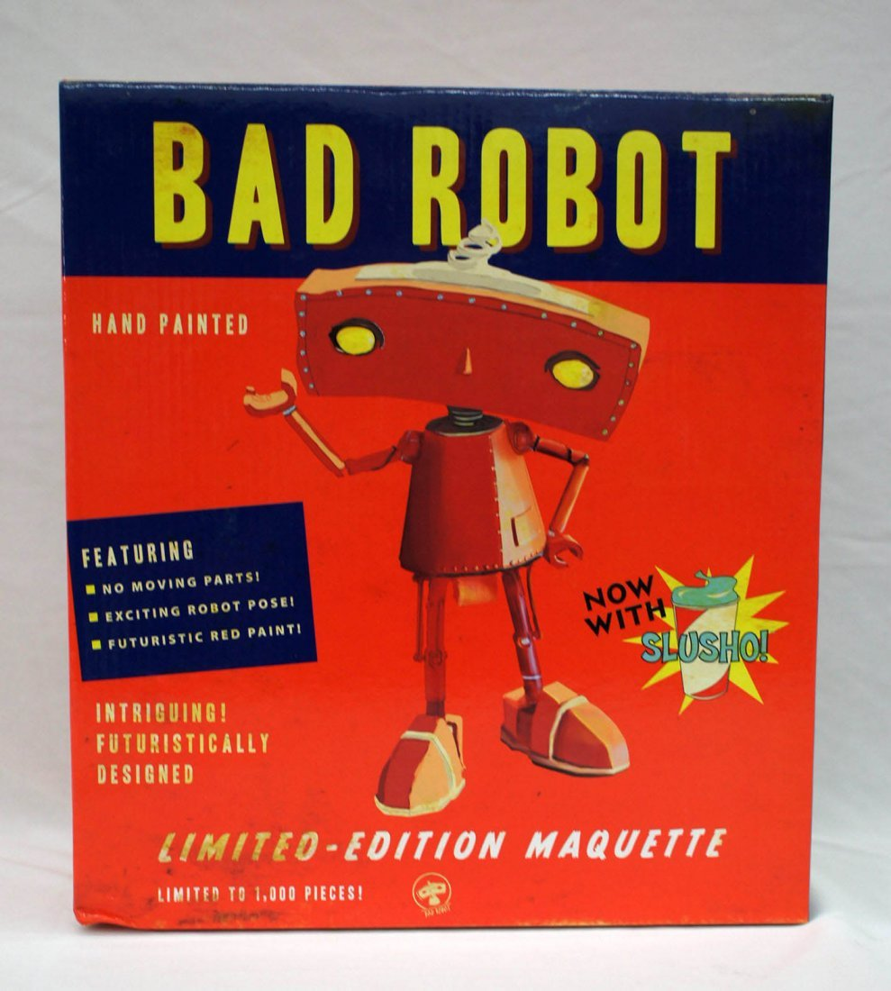 Quantum Mechanix Bad Robot Maquette Statue Figure No.
