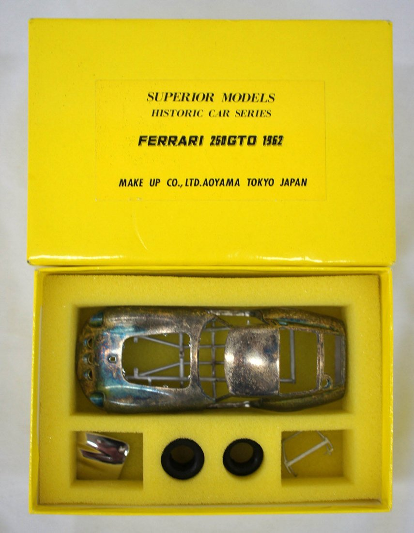 Ferrari 250GTO 1962 Metal Model Kit by Superior Models