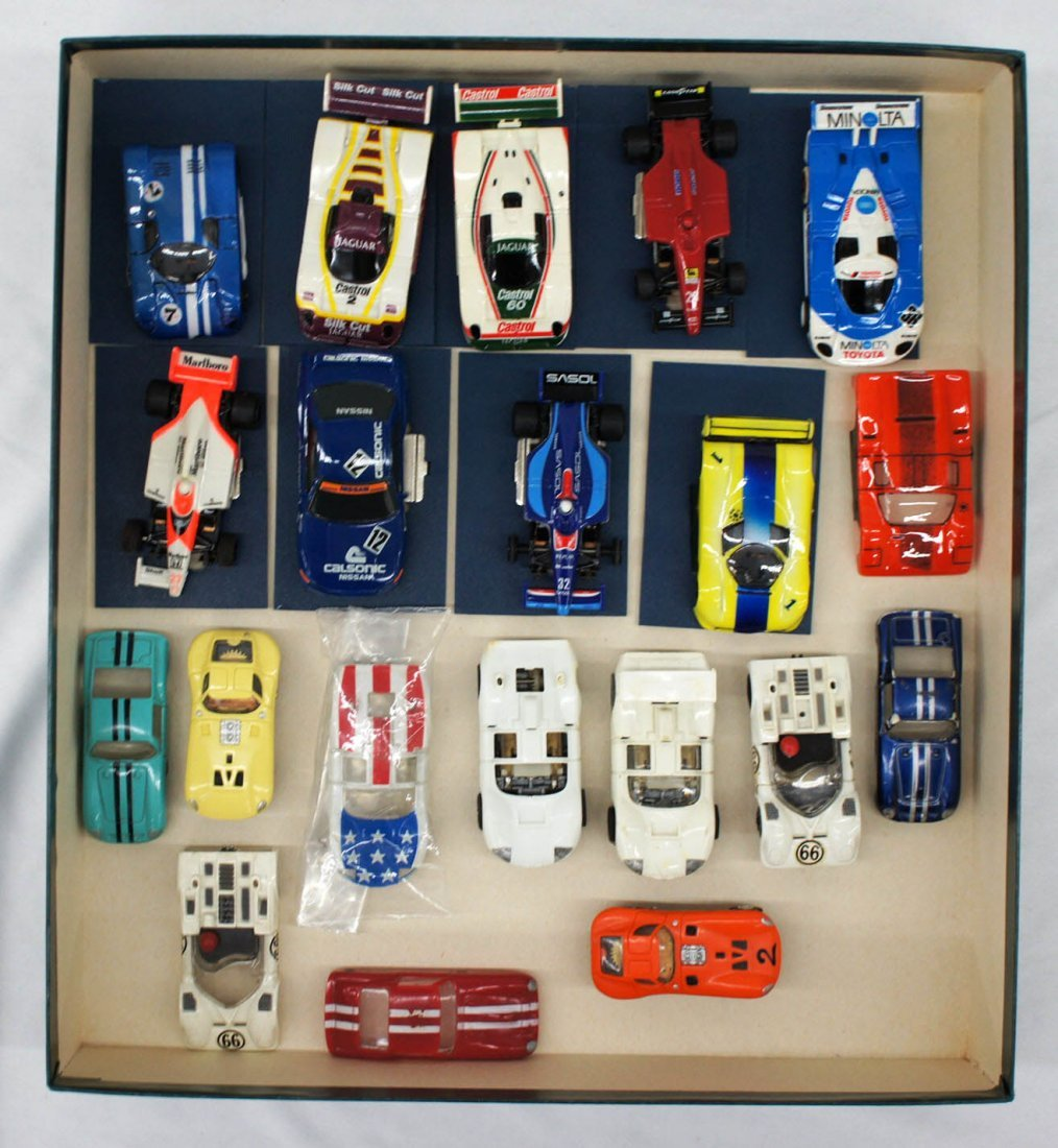 Group of (20) Vintage AFX, Tyco & Other Brand Slot Cars