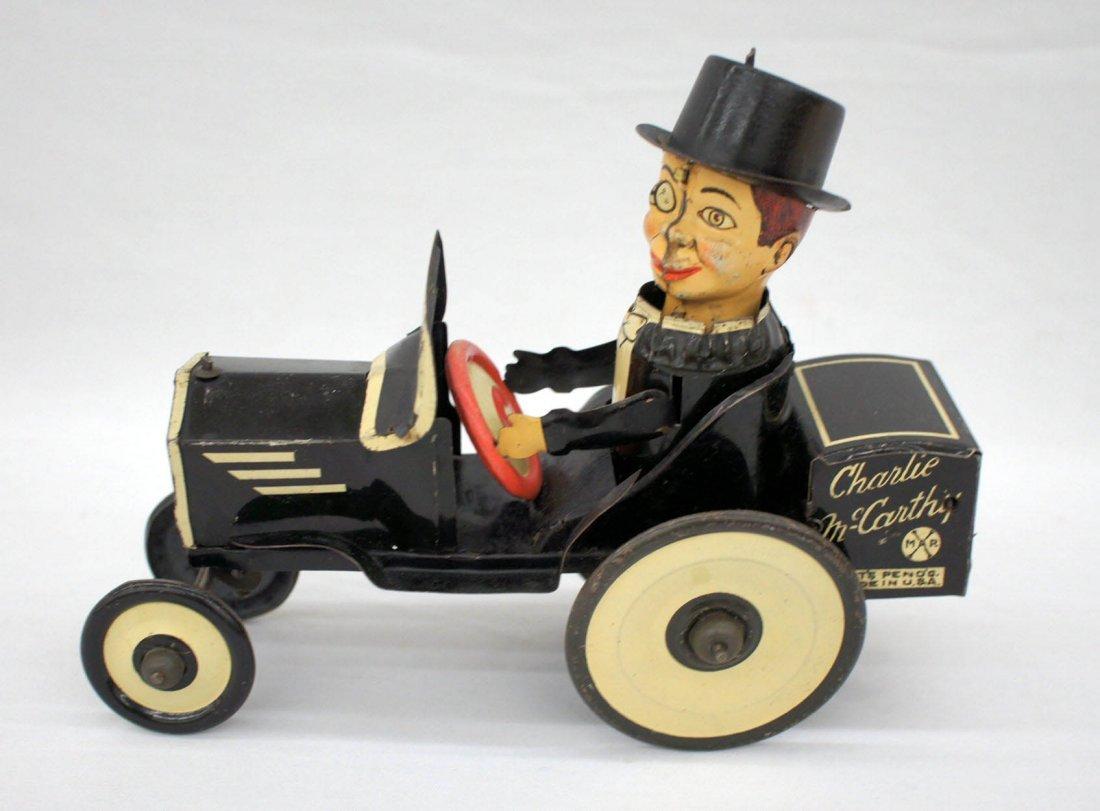 Vintage Marx Charlie McCarthy Benzine Buggy Crazy Car