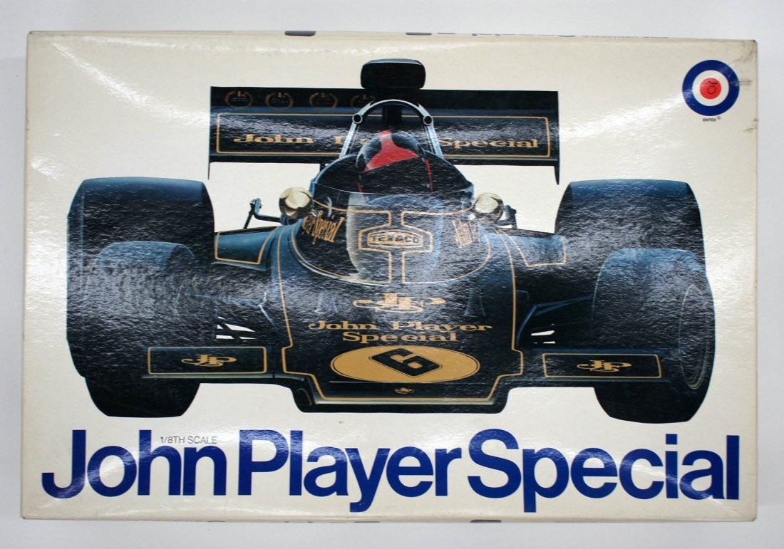 John Player Special 1/8th Scale Model Kit by Entex