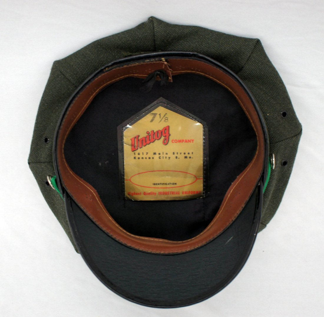 Vintage Texaco Gas Station Attendant Hat. Circa 1950's, - 2